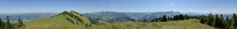 Panorama Beichle Nebenstock , Aug. 2013