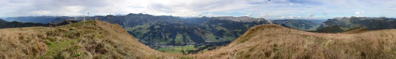Panorama Haglere 1949m, Okt. 2014