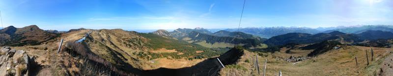 Panorama Rickhubel 1943m, Okt. 2011