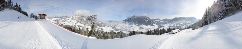 Panorama Skilift Flühli – Oberblasen 1200m, Feb. 2015