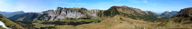 Panorama Wasserfallenegg 1730m, Okt. 2011